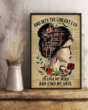 And into the library I go to lose my mind 11x17 Poster lifestyle-poster-3
