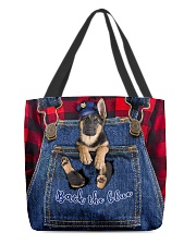 K9 Back the blue All-over Tote front