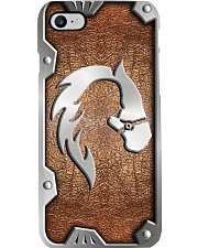 Horse Lover Leather Pattern Print  Phone Case i-phone-8-case