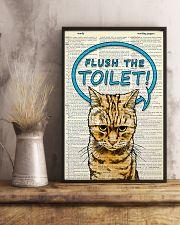 Flush the toilet 11x17 Poster lifestyle-poster-3