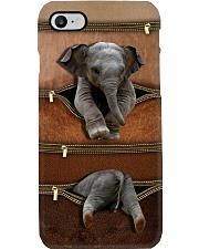 Elephant Leather Pattern Print Phone Case i-phone-8-case