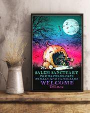 Salem sanctuary for wayward cats  11x17 Poster lifestyle-poster-3