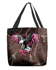 Stronger than the storm All-over Tote back