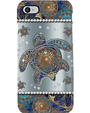 Turtle Mandala  Phone Case i-phone-8-case