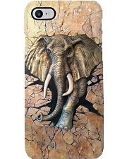 Elephant Clay Pattern Print  Phone Case i-phone-8-case