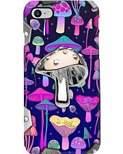 Mushroom Hunter Metal Pattern Print Phone Case i-phone-8-case