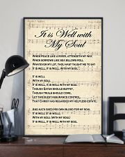It is well with my soul Christian hymn lyrics 11x17 Poster lifestyle-poster-2