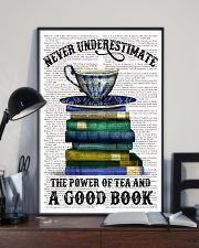 Never underestimate 11x17 Poster lifestyle-poster-2