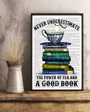 Never underestimate 11x17 Poster lifestyle-poster-3