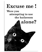 Excuse me 11x17 Poster front