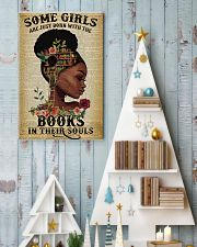 Some girls are just born with the books 11x17 Poster lifestyle-holiday-poster-2