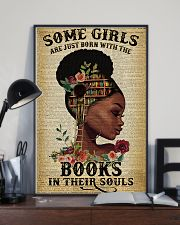 Some girls are just born with the books 11x17 Poster lifestyle-poster-2
