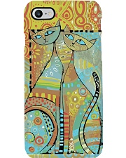 Cat  Phone Case i-phone-8-case