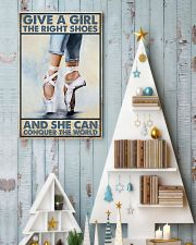 Give a girl the right shoes 11x17 Poster lifestyle-holiday-poster-2