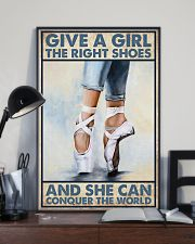 Give a girl the right shoes 11x17 Poster lifestyle-poster-2