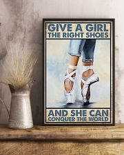 Give a girl the right shoes 11x17 Poster lifestyle-poster-3