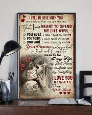 I fell in love with you 11x17 Poster lifestyle-poster-2