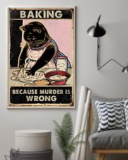 Baking because murder is wrong- 3600x5400 11x17 Poster lifestyle-poster-1