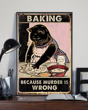 Baking because murder is wrong- 3600x5400 11x17 Poster lifestyle-poster-2