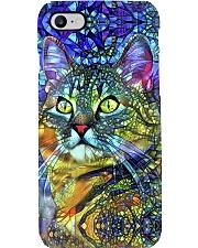 Colorful cat Phone Case i-phone-8-case