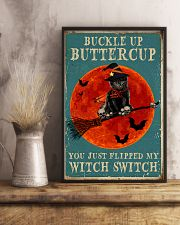 Buckle up buttercup 11x17 Poster lifestyle-poster-3