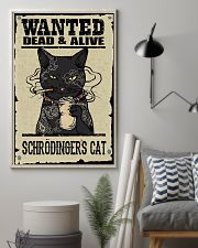 Wanted Schrödingers cat 11x17 Poster lifestyle-poster-1