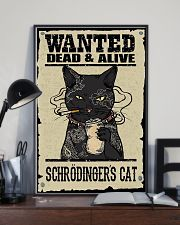 Wanted Schrödingers cat 11x17 Poster lifestyle-poster-2