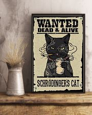 Wanted Schrödingers cat 11x17 Poster lifestyle-poster-3