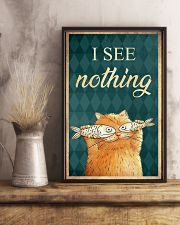 I see nothing  11x17 Poster lifestyle-poster-3