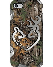Love Metal Pattern Print Phone Case i-phone-8-case