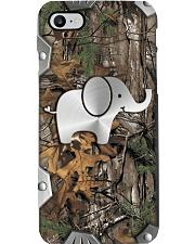Elephant Metal Pattern Print  Phone Case i-phone-8-case