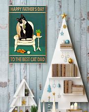 The best cat dad Father's day 11x17 Poster lifestyle-holiday-poster-2