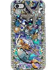 Mermaid kisses and starfish wishes Phone Case i-phone-8-case