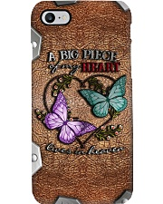A Big Piece Of My Heart Metal Pattern Print  Phone Case i-phone-8-case