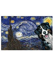 Bernese Mountain Dog Starry Night Dog lovers 17x11 Poster front