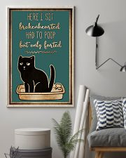 Here I sit brokenhearted 11x17 Poster lifestyle-poster-1