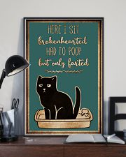 Here I sit brokenhearted 11x17 Poster lifestyle-poster-2