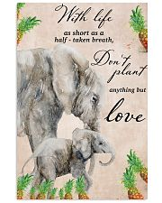 With life as short as half taken breath 11x17 Poster front
