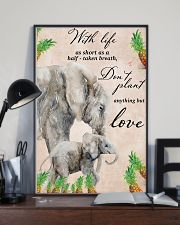 With life as short as half taken breath 11x17 Poster lifestyle-poster-2