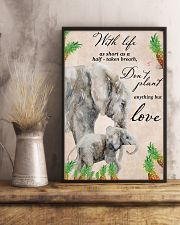 With life as short as half taken breath 11x17 Poster lifestyle-poster-3