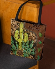Love Cactus Leather Pattern Print All-over Tote aos-all-over-tote-lifestyle-front-02