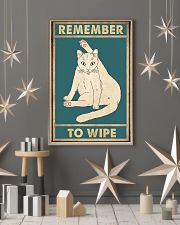 Remember to wipe 11x17 Poster lifestyle-holiday-poster-1