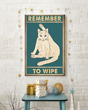 Remember to wipe 11x17 Poster lifestyle-holiday-poster-3