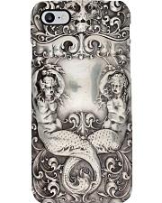 Royal Mermaid Metal Pattern Print  Phone Case i-phone-8-case