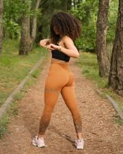 Faith Hope Love High Waist Leggings aos-high-waist-leggings-lifestyle-17