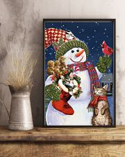Christmas Is Coming 11x17 Poster lifestyle-poster-3