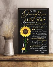 To my daughter 11x17 Poster lifestyle-poster-3