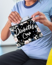 Diabetes crap Accessory Pouch - Standard aos-accessory-pouch-8-5x6-lifestyle-front-07