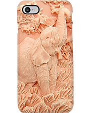Elephant silicon mold pattern print Phone Case i-phone-8-case
