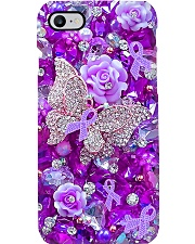 Pancreatic cancer warrior Phone Case i-phone-8-case